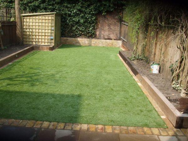 cỏ nhân tạo lót sân vườn