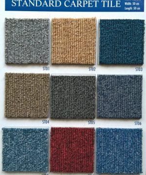 Thảm gạch standard lót sàn