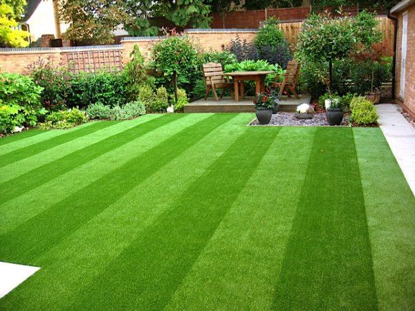 trải thảm cỏ văn phòng