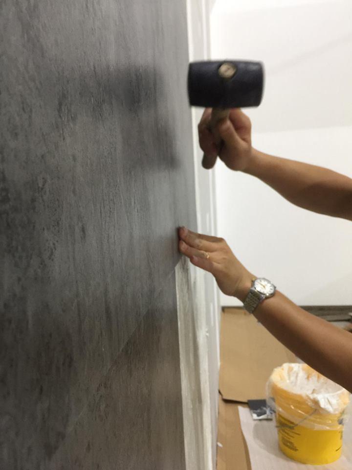 thi công nhựa ốp tường