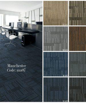 thảm tấm Mannches lót sàn