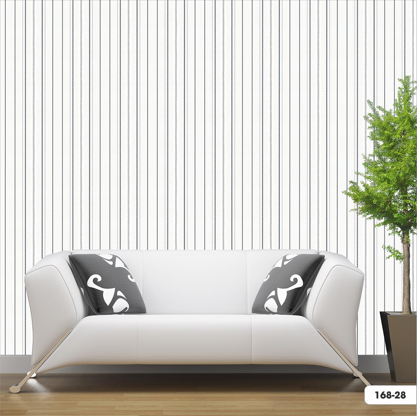 vải dán tường sọc